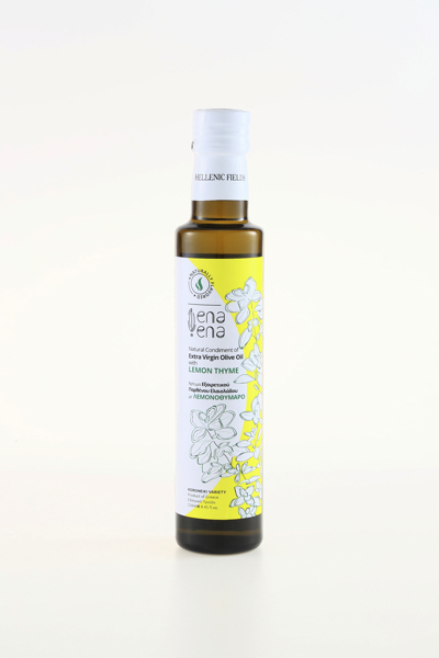 ena ena Natural Condiment of Extra Virgin Olive Oil with Lemonthyme