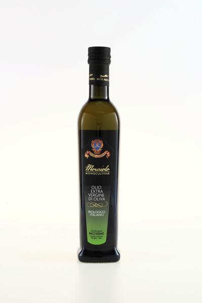 Bacci Noemio Olio extra vergine di oliva da agricoltura biologica Monocultivar MORAIOLO