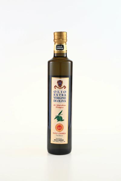 Bacci Noemio Olio extra vergine di oliva da agricoltura biologica D.O.P. Umbria