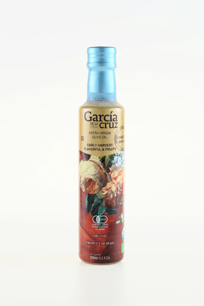 ACEITE DE OLIVA VIRGEN EXTRA ECOLOGICO EARLY HARVEST 250ML GARCIA DE LA CRUZ