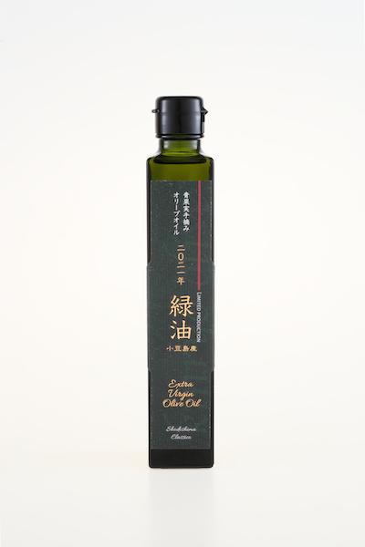 SHODOSHIMA MADE FIRST HARVEST GREEN PREMIUM EXTRA VIRGIN OLIVE OIL