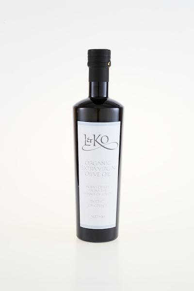 L&KO ORGANIC EXTRA VIRGIN OLIVE OIL