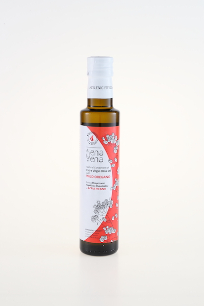 ena ena Natural Condiment of Extra Virgin Olive Oil with Wild Oregano