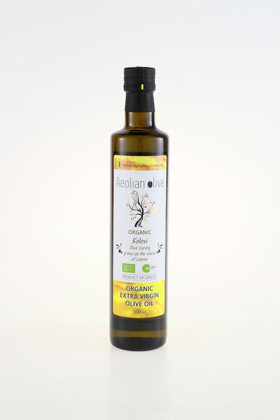 AEOLIAN OLIVE ORGANIC EXTRA VIRGIN OLIVE OIL